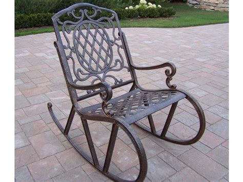Wrought Iron Rocker Patio Chairs Furniture International Caravan Scroll Wrought Iron Outdoor Rocker Outdoor Wrought Iron Rocker
