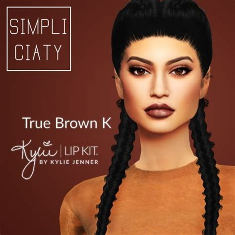 sims 4 cc on tumblr simpliciaty kylie lip kit sims 4 downloads custom