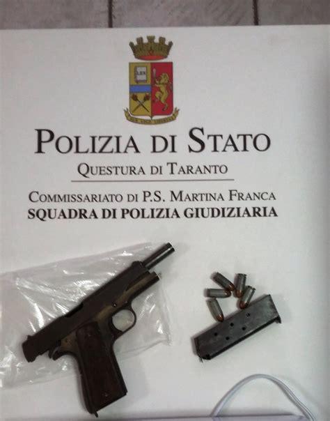 porto pistola detenzione e porto illegale di pistola arrestata 40enne