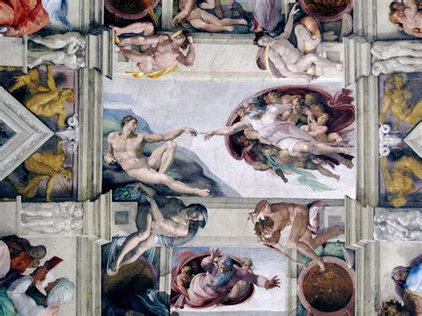Sistine Chapel Ceiling Adam And God by Vatican Truk Rambles