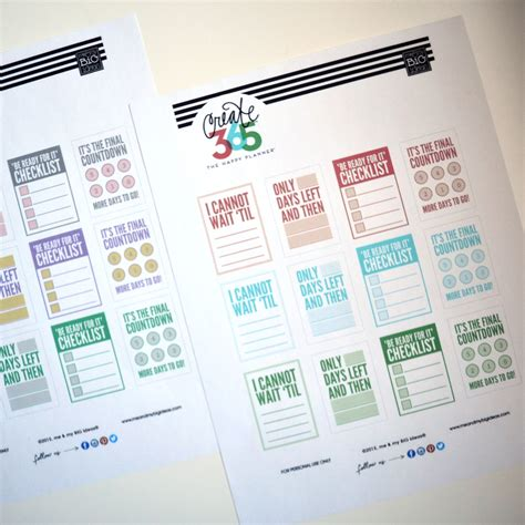 planner printables ideas countdown free printables for the happy planner me