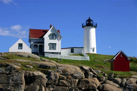 Nubble Light by Image Gallery Nubble