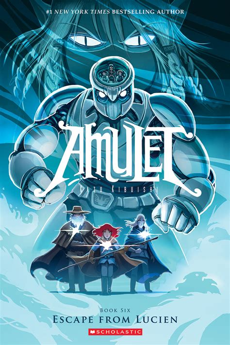 six four a novel books update kazu kibuishi launches amulet v6 on august 25 at