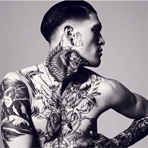 dope boy tattoos 753 best tatted boys images on guys