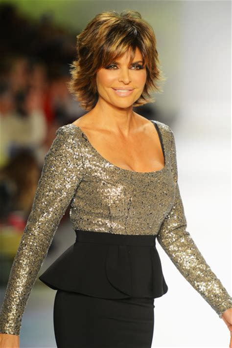 lisa rinna pictures strut the fashionable mom show runway
