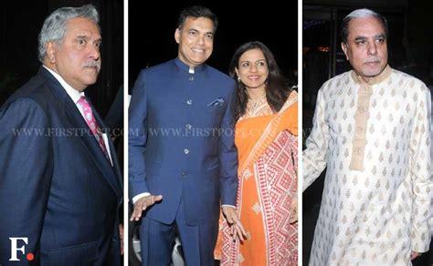 actor vijay gokhale family spotted srk ambani at tv actor abhinav shukla s wedding