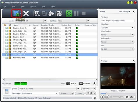 format converter 6 ultimate how to convert clip and edit video effects with 4media
