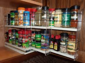 Kitchen Cabinet Spice Rack Organizer by Spice Racks Organizing Spices Spice Rack Drawer