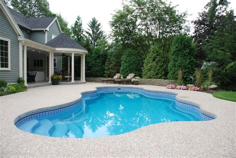 Houses For Sale With Inground Pool by Fiberglass Pools Pros Cons Costs