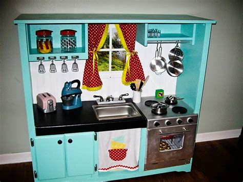 25 ideas recycling furniture for diy kids play kitchen designs 25 recycled upcycled entertainment centers furniture