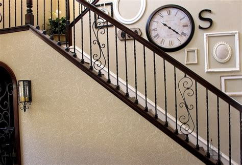 staircase wall decor gallery wall