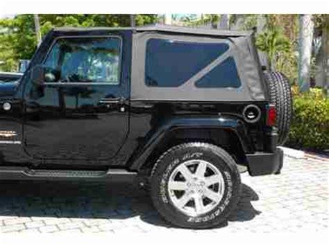 2013 Jeep Wrangler Warranty Sell New 2013 Jeep Wrangler 4wd Warranty 2dr Soft