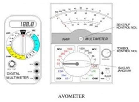 Tombol Saklar Dan Volt Meter alat ukur dasar elektronika
