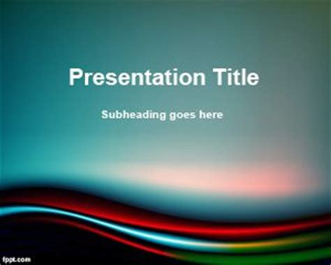Splendor Powerpoint Template Free Templates For Microsoft Powerpoint