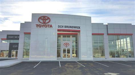 new toyota dealership dch brunswick toyota new toyota dealership in north