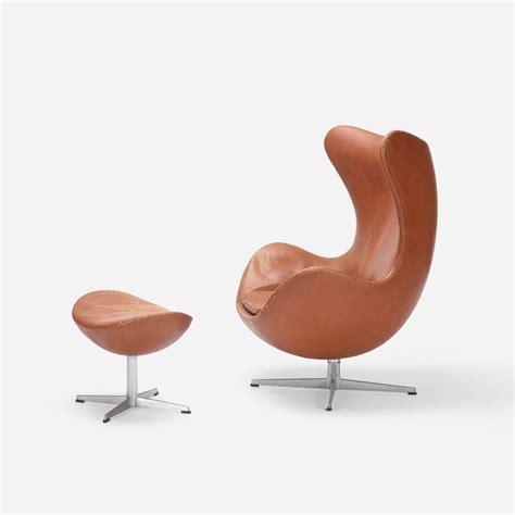 arne jacobsen egg chair ottoman egg chair and ottoman by arne jacobsen for fritz hansen