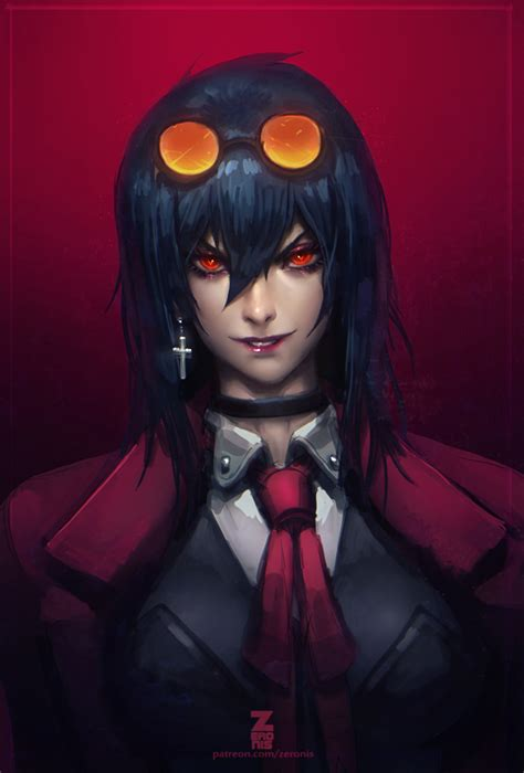 alucard wallpaper mobile alucard hellsing female mobile wallpaper 1908668