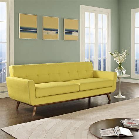 Modern Yellow Sofa Modern Pablo Sofa Lemon Yellow