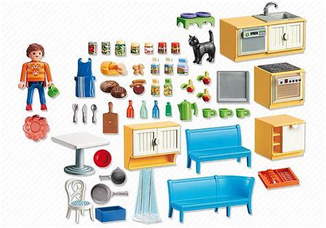 chat haus nummer playmobil maison 5336 cuisine 233 quip 233 e avec coin repas