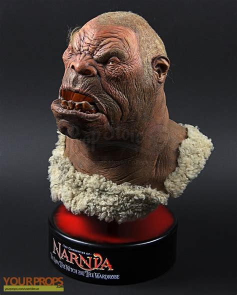 white witch ogre mask display the chronicles of narnia the the witch and the