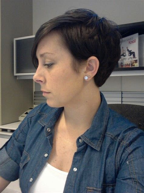 pixie cut with swing bob in front pixie 11 18 13 my hair pinterest pixies hair style