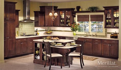 Merillat Kitchen Cabinets Merillat 174 Classic Somerton Hill In Maple Sedona Merillat