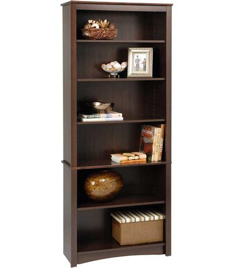 wooden bookshelf 77 inch