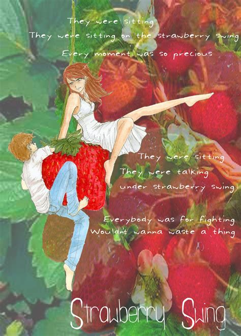 coldplay strawberry swing video strawberry swing by talenyn sama on deviantart