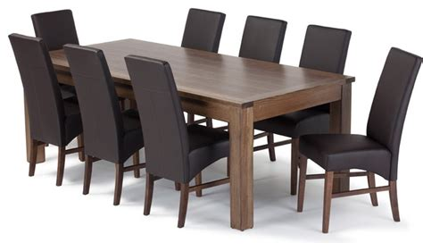 dining room table and chair sets modern dining tables
