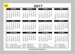 Free Printable Calendars Free Printable Calendar 2017 Templates Free Printable