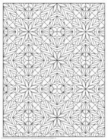 pattern color coloring pages for adults and flowers pattern