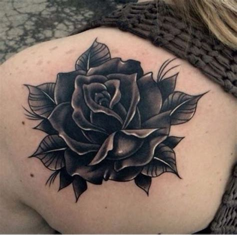 dark rose tattoo designs 80 black tattoos and design with meanings