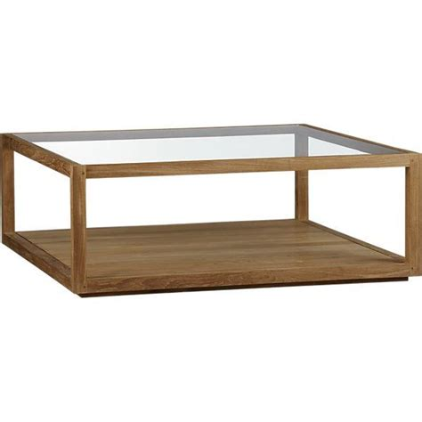 Crate And Barrel Coffee Table Structure Square Coffee Table Crate And Barrel