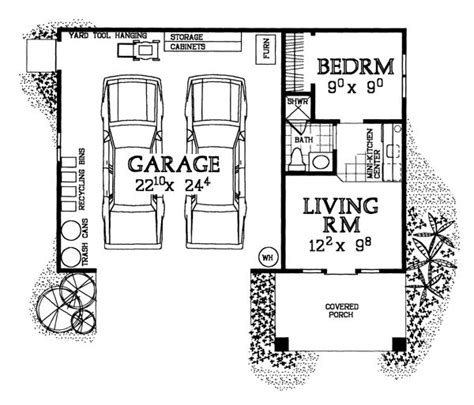garage plans with apartment one level 25 best ideas about shop with living quarters on