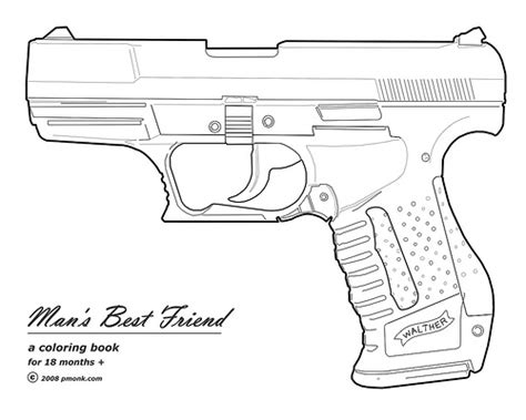 nerf gun free colouring pages
