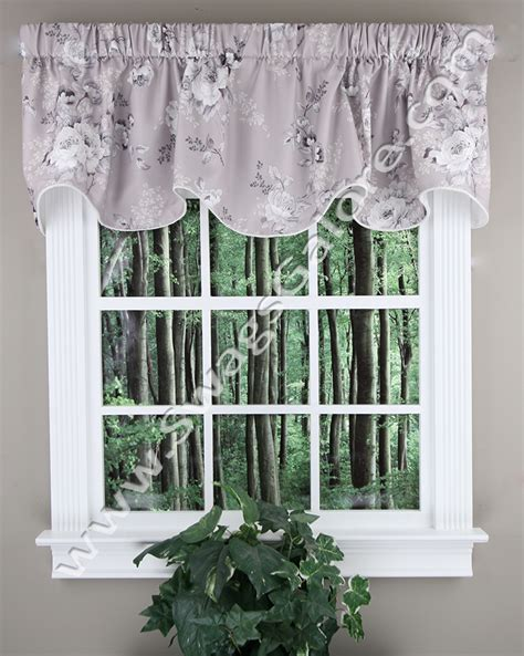 chatsworth valance grey ellis kitchen valances