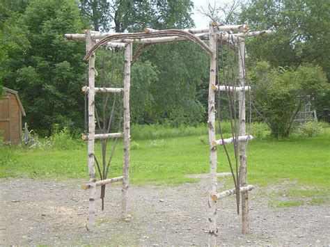 Wedding Arbor Rustic by Items Similar To Rustic Cedar Twig Garden Wedding Arbor