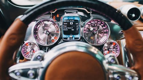 Pagani Huayra The Steunk Hypercar Interior That Will