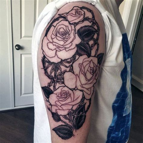 flower tattoo for guys 50 flower tattoos for men a bloom of manly design ideas