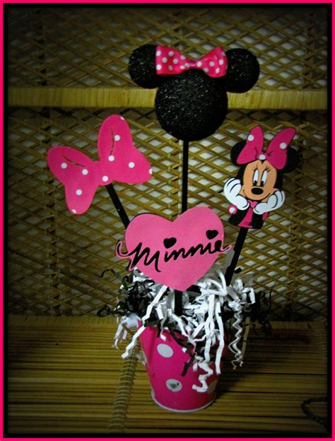 Minnie Mouse Table Decorations by Minnie Mouse Table Decoration Photograph Minnie Mous