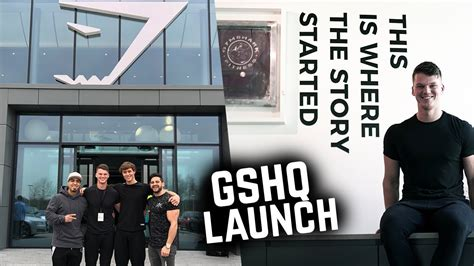gymsharks  headquarters gshq launch day