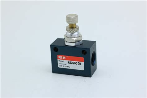 Pressure Speed Valve Flow 1 8 Chelic Asc 150 01 asc series flow speed valve one way throttle
