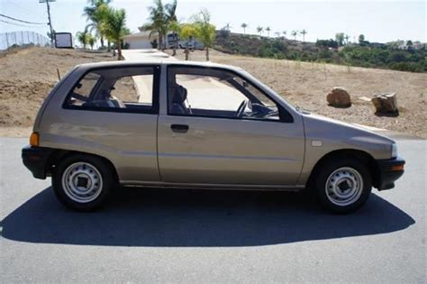 1990 daihatsu charade 1990 daihatsu charade se in el cajon ca 1 owner car