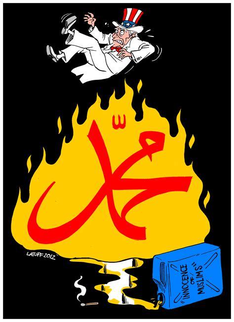 film nabi nuh cartoon innocence of muslims latuff cartoons