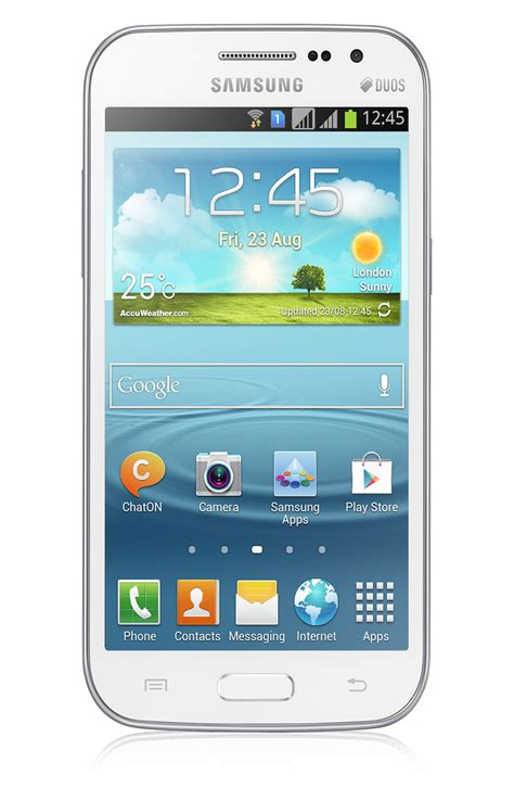 Samsung Duos Samsung Galaxy Win Duos I8552 Phone Specifications