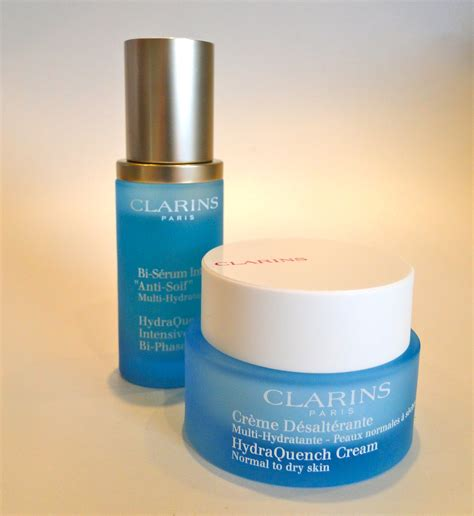 Serum Clarins clarins hydraquench serum and the luxe list
