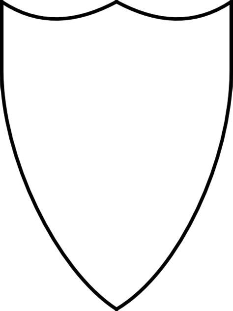 Crest Outline Clip Art at Clker.com - vector clip art