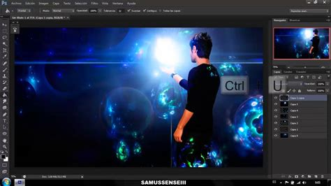 tutorial adobe photoshop cc 2015 photoshop cc 2015 effect energy ball tutorial youtube