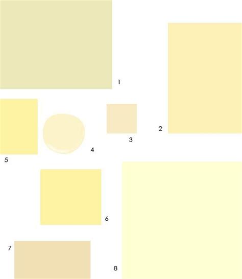 8 pale buttercream paint colors designers