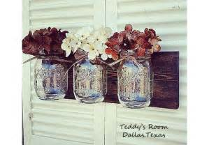 Mason jar wall decor farmhouse decor country decor rustic decor